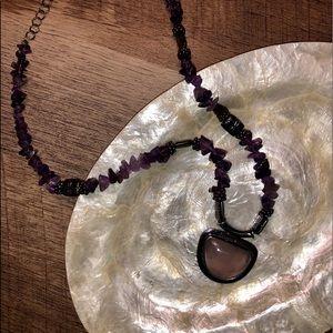 Fashion Amethyst Necklace
